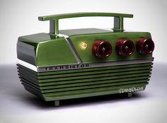 cool vintage radio