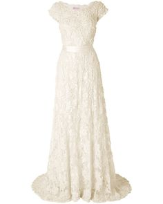 Would you believe that this gorgeous wedding dress comes at a high street price?