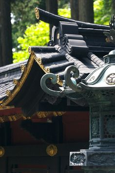 Details… Such beautiful architectural details in this Tochigi, Japanese image.