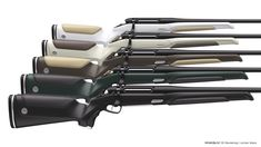 MONOBLOC: Jagdwaffendesign für Steyr-Arms. Vom Entwurf bis zum Serienprodukt.  www.indirio.com Steyr, Rifles, Golf Clubs, Arms, Design, Mockup, Hunting, Design Comics, Cheat Sheets