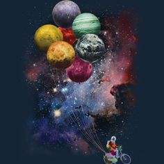 Spaceman Sidejob is a T Shirt designed by Bacht to illustrate your life and is available at Design By Humans Planets Wallpaper, Wallpaper Space, Cute Wallpaper Backgrounds, Galaxy Wallpaper, Cute Wallpapers, Iphone Wallpapers, Space Artwork, Galaxy Painting, Moon Art