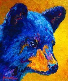 Black Bear Cub 2 Painting  - Black Bear Cub 2 Fine Art Print