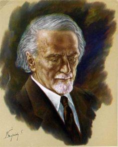 Kodály Zoltán arcképe. Légrády Sándor festménye (magántulajdon). Lee Jeffries, Portrait, Gallery, Image, Men Portrait, Portraits