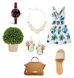 """Set 1...March 16th."" by liz957 ❤ liked on Polyvore featuring Boden, Hinge, Lydell NYC, ZAC Zac Posen, ASOS, Betsey Johnson, floral, set, WhatToWear and bestofpolyvore"
