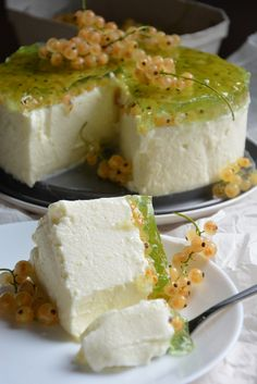 Yogurt Recipes, Mousse Cake, Food Cakes, Cheesecakes, Feta, Cake Recipes, Food And Drink, Pudding, Sweets