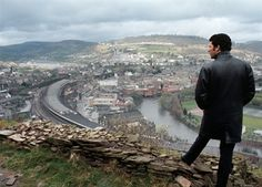Tom Jones over Pontypridd by Tony Frank.