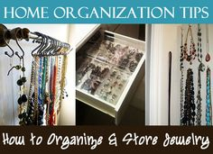 Got Lots of Bling? Tips on How to Organize and Store Jewelry