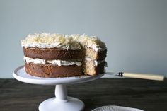 Lady and Pups - Cheddar Snow Brunch Cake  (easy recipe; short list of ingredients; cheese)