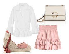 Une jupe rose pour le boulot