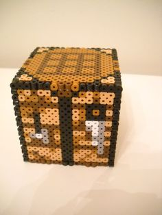 Minecraft Essentials: Crafting Table perler beads by RetroNinNin on deviantART
