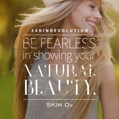 #SkinRevolution  Be proud of your skin and show it off to the world.