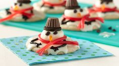 Melted Snowmen Cookies | 2016 Cookie Exchange