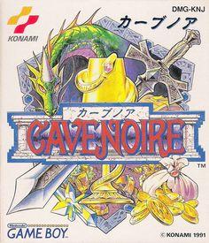 Cave Noire / Game Boy / Konami / 1991