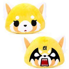 Aggretsuko double sided pillow - Sanrio