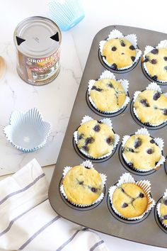 These pancake muffins couldn't be simpler to make. They capture the traditional taste of pancakes, kids love so much and are easy to customize too! Pancake Muffins, Apple Muffins, Pancakes Easy, Breakfast Pancakes, Breakfast Recipes, Gluten Free Pancakes, Gluten Free Banana, Traditional Taste, Convenience Food