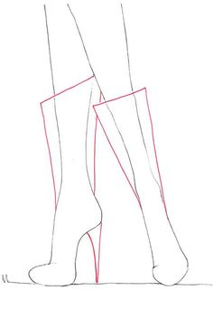 fashion boots drawing. drawing boots for fashion sketches tutorial