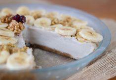 banana cream pie made with cashews! #vegan #glutenfree