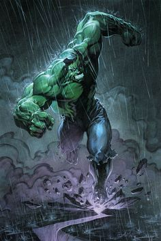 #Hulk #Fan #Art. (Hulk) By: Anthony Jean. (THE * 5 * STÅR * ÅWARD * OF: * AW YEAH, IT'S MAJOR ÅWESOMENESS!!!™)[THANK Ü 4 PINNING!!!<·><]<©>ÅÅÅ+(OB4E)