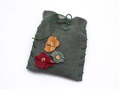Mała torebka Zielona w AB art na DaWanda.com