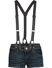 VANILLA STAR Denim Overall Womens Shorts 176071811   Rompers   Tillys.com