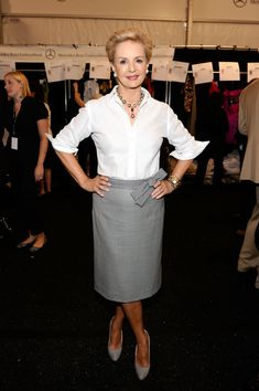Carolina Herrera in MBFW Spring 2011 - Official Coverage - People and Atmosphere Day 5