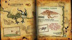 Book Of Dragons - Terrible Terror page