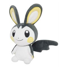 ,Pokemon Plush All Star Collection Vol. 4 Emolga (S Size),Collectible listed at CDJapan! Get it delivered safely by SAL, EMS, FedEx and save with CDJapan Rewards! Pokemon Plush, All Pokemon, Cute Pokemon, Pokemon Cards, Plush Dolls, Doll Toys, Pokemon Card Pictures, Pokemon Collection, Flying Squirrel