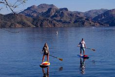 Mesa, Arizona is not known for it's watersports, but at No Snow SUP, you can get a one-of-a-kind standup paddle boarding experience on Saguaro Lake in the Sonoran Desert. Paddle through deep calm water surrounded by panoramic mountain cliffs, canyon walls, majestic Saguaro cactus and desert gardens. Take a lesson from a pro, or rent a board and get out on the lake on your own. No ocean is required!