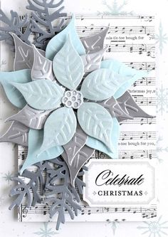 HSN August 16th Product Preview 4 Winner + How to: Deco Flock Vintage | Anna's Blog - Christmas Botanical Dies