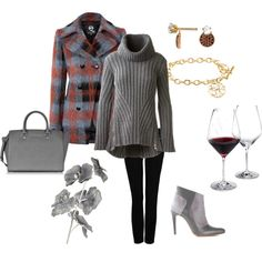 """Warm Winter Wines"" by generousgems on Polyvore"
