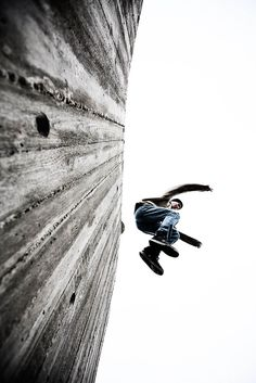 parkour from below