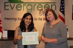 Our newest Peer Tutor in the Medical Office Administrator Diploma is Jyoti.  At Evergreen College we often have students in our classrooms who exceed expectations. They may have a background in the field, excellent grades and study skills, consistently demonstrate professionalism and leadership translate for ESL students, and mentor their classmates. They may even be already engaged in assisting the professor by leading study groups etc.