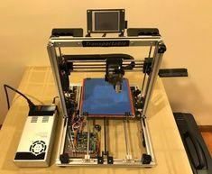 Bergen Makerspace Transportable Printer: 56 Steps (with Pictures) 3d Printing News, 3d Printing Service, Printer Desk, Diy 3d Printer, Grow Home, Prusa I3, 3d Printer Designs, Bergen, 3d Design