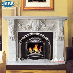 Marble Floral Fireplace Mantel www.jsbluesea.com info@jsbluesea.com whatsapp wechat:0086-13633118189 #homedecor #homerestoration #fireplace #stonefireplace #fireplacemantel #jsbsmarble #jsbsstone #JSBS Marble Fireplace Mantel, Fireplace Mantel Surrounds, Marble Fireplaces, Marble Columns, Stone Columns, Marble Carving, Stone Fountains, Stone Cladding, Stone Veneer