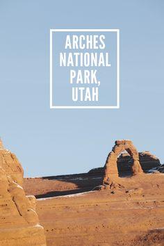 Arches National Park, Utah, USA // WeAreAdventure.us