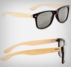 Rayban De Bamboo Modelo Rb2140 Lentes Polarizadas + Brinde - R$ 189,90