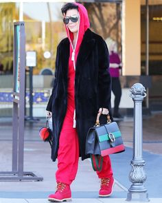 Celebrities Obsessed with Their Timberland Boots - Kris Jenner from InStyle.com