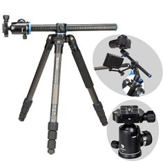 499.31$  Watch now - http://ali2kv.worldwells.pw/go.php?t=32362477326 - Benro GC268TV2 Carbon Fiber Tripod Monopod For Camera With V2 Ballhead 4 Section Carrying Bag Max Loading 18kg DHL Free Shipping 499.31$