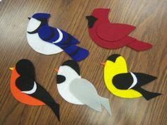 Preschool Storytime - Flannel board birds