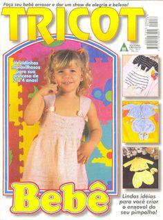 Revista online Tricot Bebê - Receita Tricô Fácil