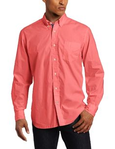 Nautica Men's Solid Poplin Long Sleeve Button Down Shirt for only $37.62 You save: $11.88 (24%) + Free Shipping