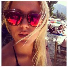 Le Specs sunglasses. Halfmoon magic