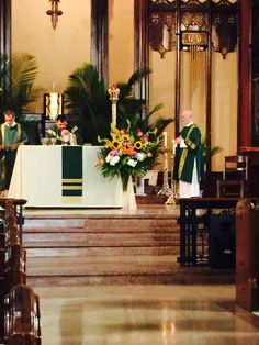 Last Mass at IHM.   6/28/15