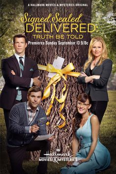 Its a Wonderful Movie - Your Guide to Family Movies on TV: Signed, Sealed, Delivered: Truth Be Told on Hallmark Movies & Mysteries