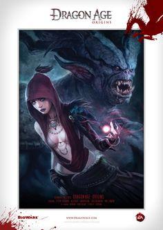 Dragon Age Origins   Morrigan Poster 2