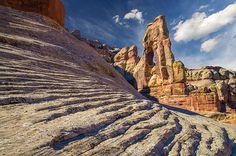 Druid Arch. Canyonlands National Park, Utah