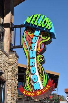 Mellow Mushroom in Gatlinburg has the best pizza in town.