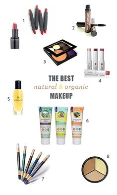 The Best Organic Makeup Brands | Green + Natural Cosmetics Products by Green Beauty Team's Kristen Arnett DIY Beauty Tips, DIY Beauty Products #DIY
