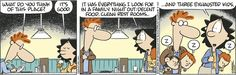 ideal - Baby Blues by Rick Kirkman and Jerry Scott, April 22, 2017