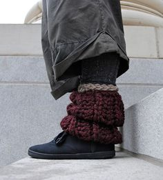 Chunky Knitted Socks, Perfect for Winter!